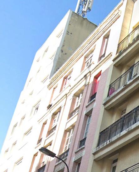 Espace parties communes d'immeubles Paris 19eme
